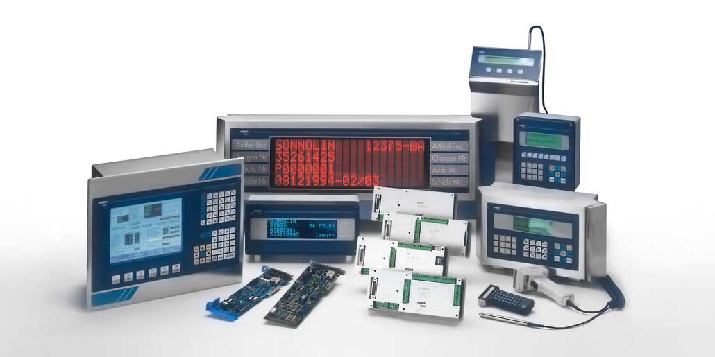 Range of data acquisition terminals designed by quickpartners for Propack Data nowadays sold by Pepperl+Fuchs