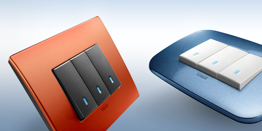 Vimar Arké - residential switch range | design quickpartners+